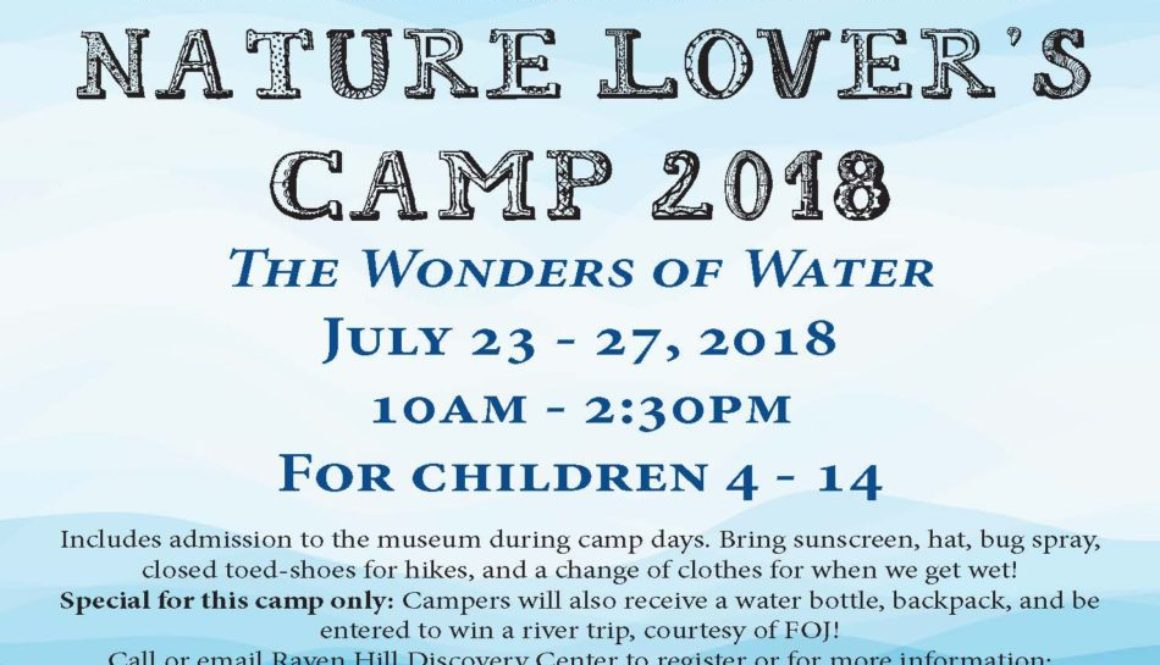 Nature Lovers Camp Wonders of Water