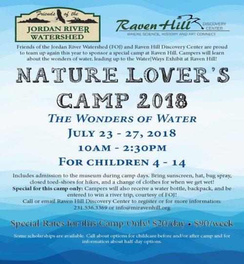 Nature Lovers Camp Wonders of Water